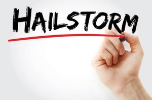 Hailstorms and Roof Damage