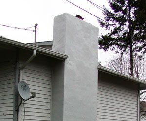 Stucco Chimneys