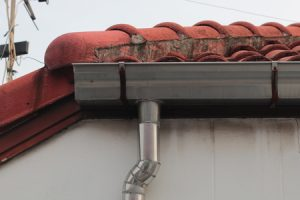 Damaged Rain Gutters